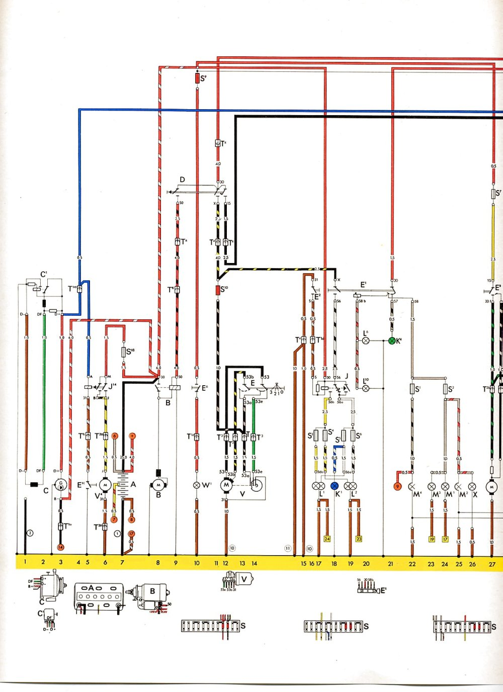 medium resolution of com vw bus and other wiring diagrams