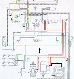 vintagebus com vw bus and other wiring diagrams wiring diagram for air cooled vw [ 1679 x 2427 Pixel ]