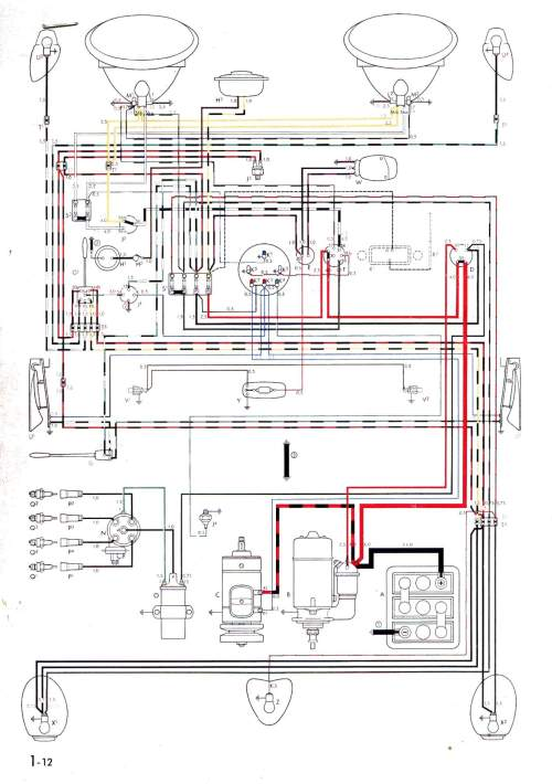 small resolution of vintagebus com vw bus and other wiring diagrams 64 mg wiring diagram