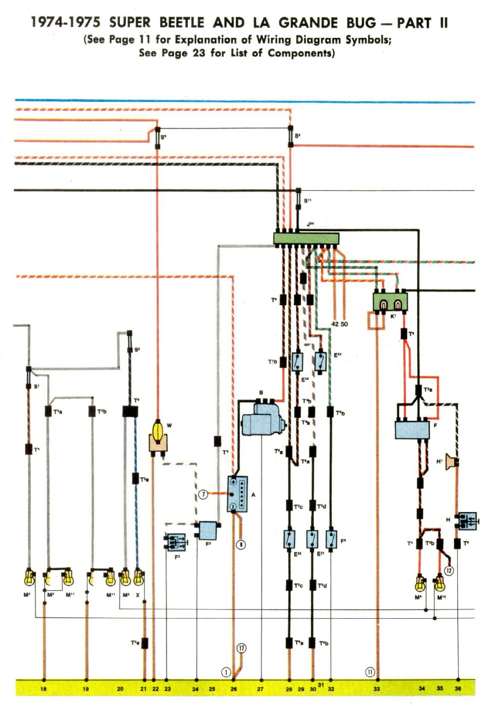 medium resolution of  in those diagrams just doesn t seem to match up quite right then click on the 1303 1974usa green dots in http www vintagebus com wiring index html