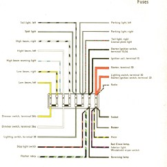 1972 Vw Bus Wiring Diagram Simple Bubble For Writing Harness Data Vintagebus Com And Other Diagrams Volkswagen Type 3