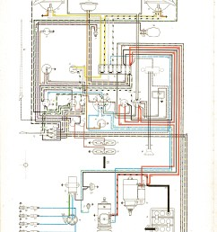 vintagebus com vw bus and other wiring diagramscom vw bus and other  [ 1666 x 2323 Pixel ]