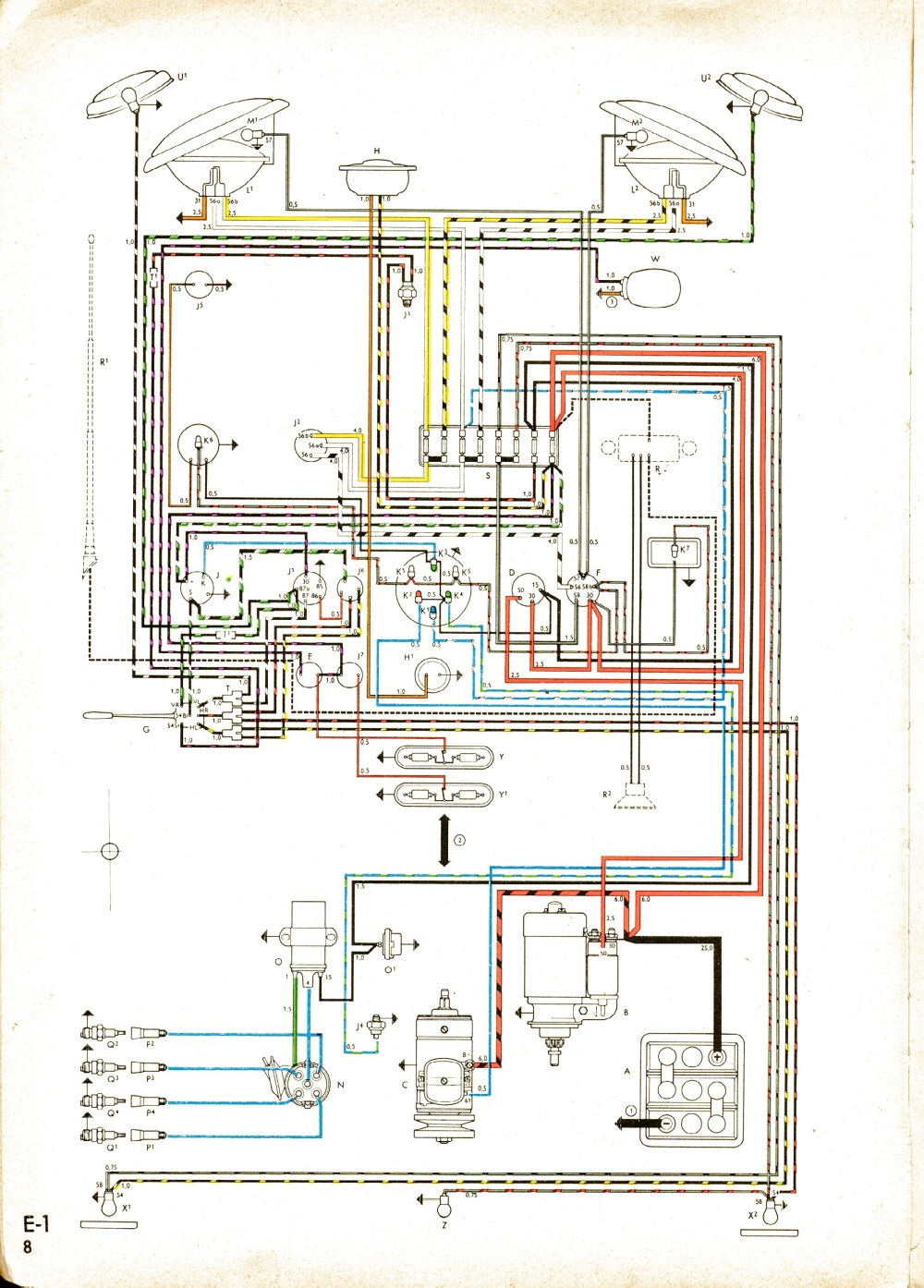 medium resolution of vintagebus com vw bus and other wiring diagramscom vw bus and other