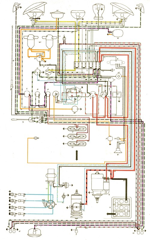 small resolution of 1972 vw engine diagram