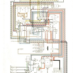 1972 Vw Bus Wiring Diagram 86 Chevy Truck Alternator 1960 All Data Vintagebus Com And Other Diagrams 72 Engine