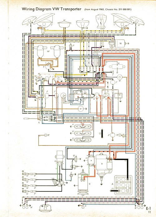 small resolution of vintagebus com vw bus and other wiring diagrams porsche 986 amplifier wire diagram 209