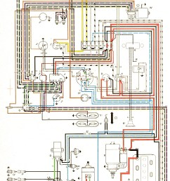 engine wire diagram for 72 beetle [ 1452 x 2240 Pixel ]