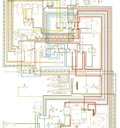 vintagebus com vw bus and other wiring diagrams 71 super beetle wiring diagram 66 vw bus wiring diagram [ 1356 x 2224 Pixel ]