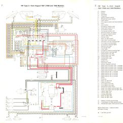 Vw Transporter Wiring Diagrams Toyota Trailer Diagram Vintagebus Com Bus And Other