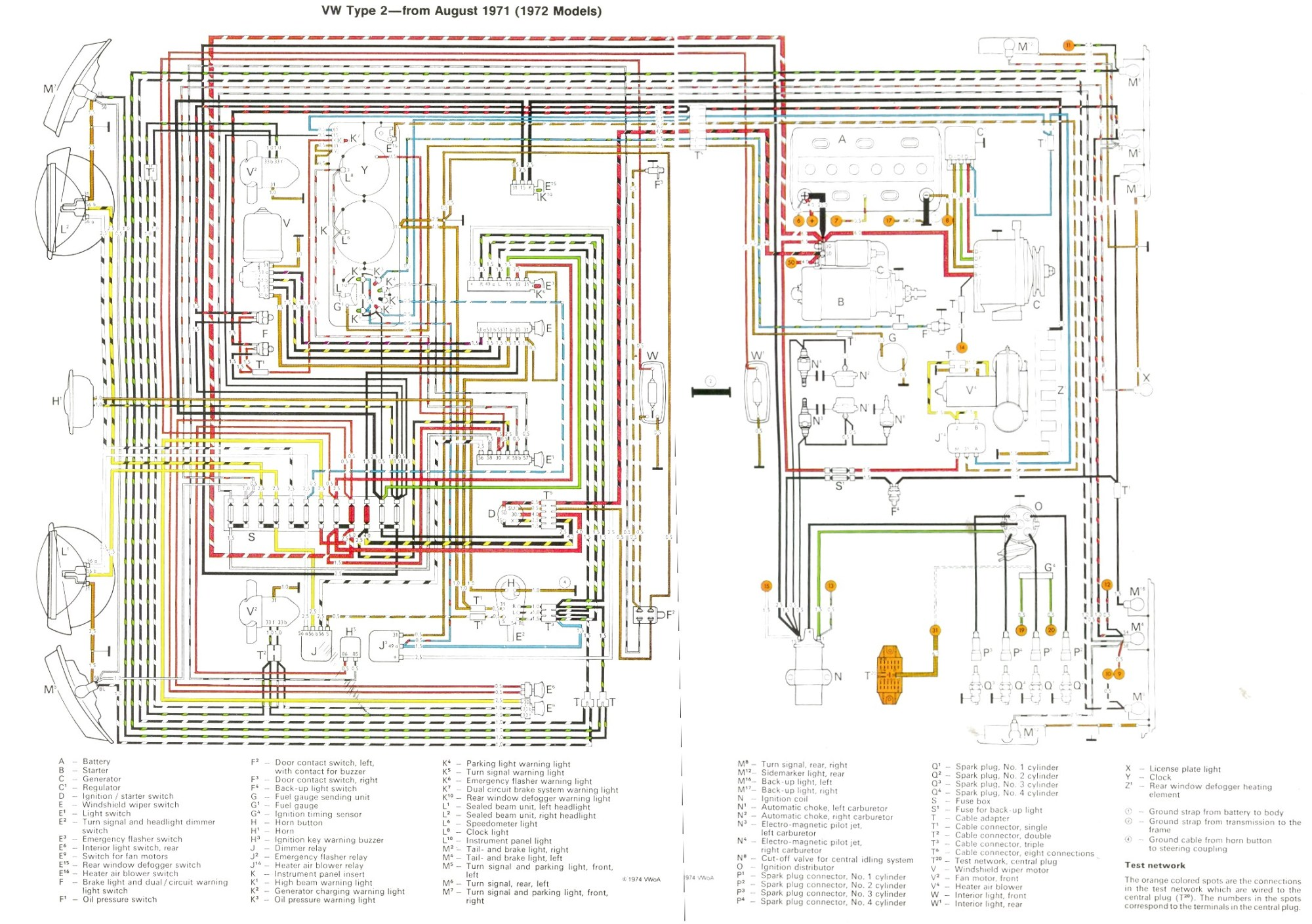 hight resolution of air cooled vw coil wiring diagram