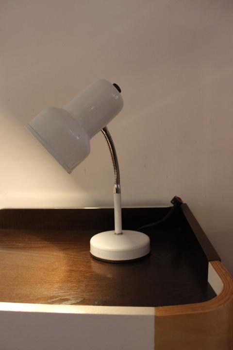 Lampe De Bureau Blanche 60s Vintage By Fabichka