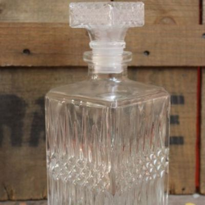 bouteille en verre pour scotch et whisky