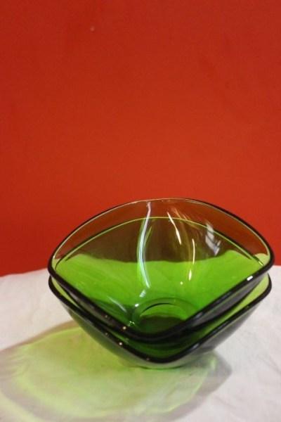 ramequin Vereco pyrex vert 1970