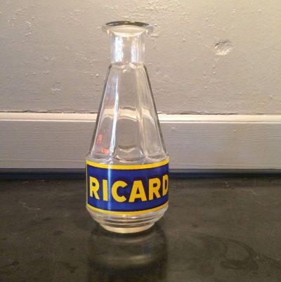 carafe Ricard en verre