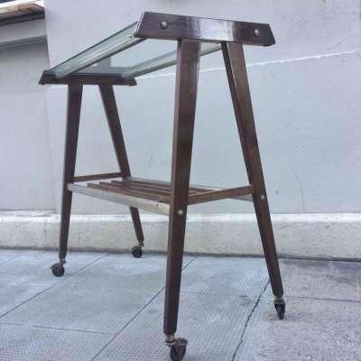 Table télévision rétro vintage