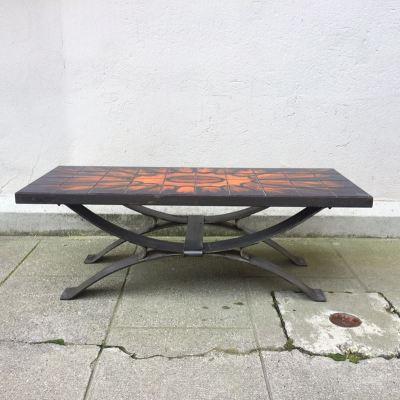 Table basse design graphique vallauris
