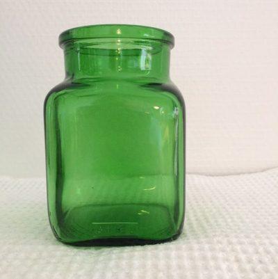 Bocal vintage en verre