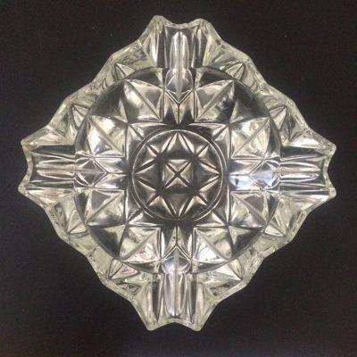 Cendrier cristal