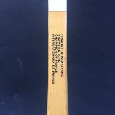 raquette tennis vintage cadre bois