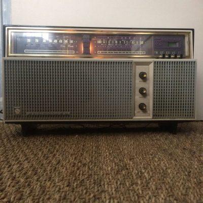 Ancien Poste radio Schneider Tarentelle vintage