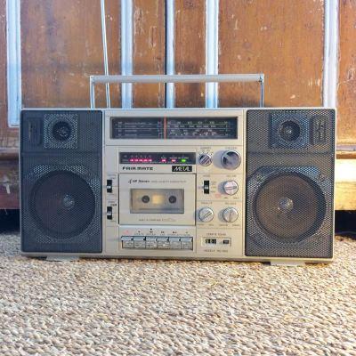 Radio Cassette Ghettoblaster vintage