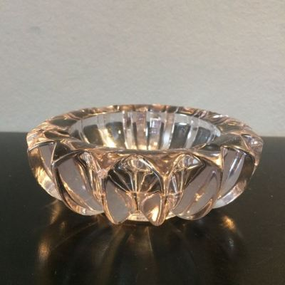 Cendrier Cristal Art Déco Pierre d'Avesn