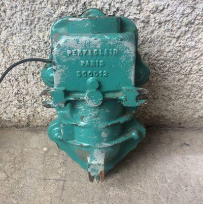 Ancienne Lampe industrielle Perfeclair Paris