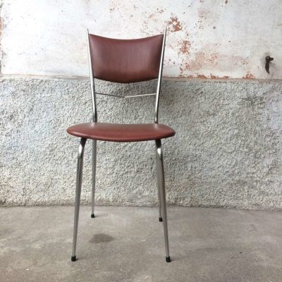 Chaise vintage chrome