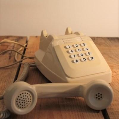 Ancien téléphone à touche