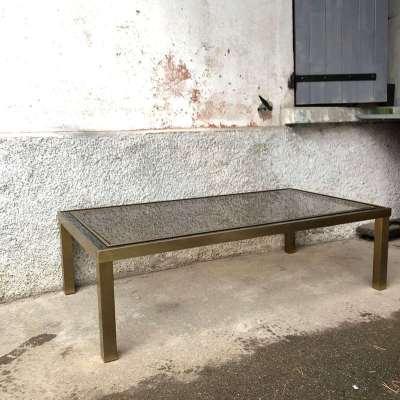 Table basse esprit minimaliste vintage