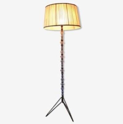 Ancien lampadaire style empire Art Déco