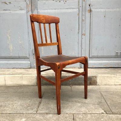 Ancienne chaise café