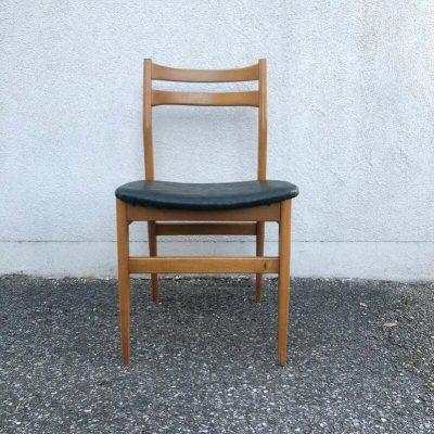 Chaise années 60 design scandinave