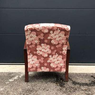 Ancien fauteuil art déco années 50