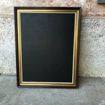 Ancien cadre doré tableau craie