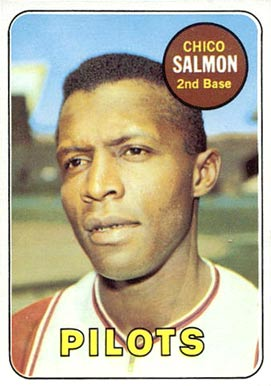Image result for 1969 CHICO SALMON BASEBALL CARD IMAGE