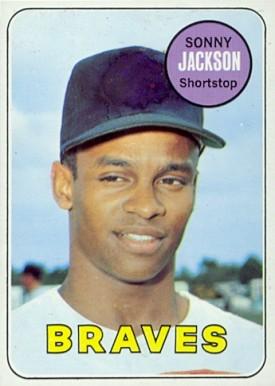 Image result for sonny jackson 1969 baseball card images