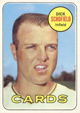 Image result for DICK SCHOFIELD 1969 BASEBALL CARD IMAGES