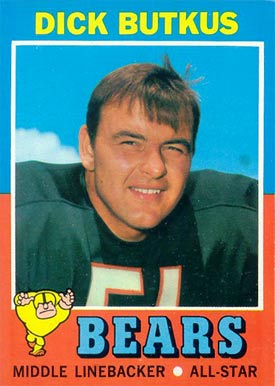 Image result for dick butkus