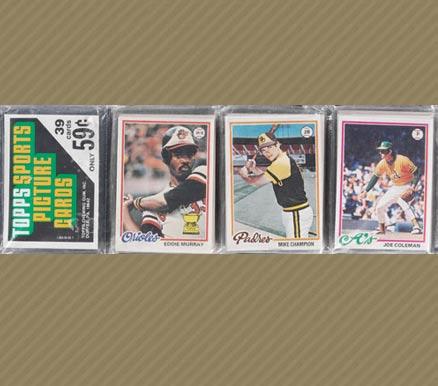 1970-1979 Unopened Packs (1970's)   #78Trp Baseball Card