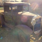 1931 Ford Model A Pick Up rat