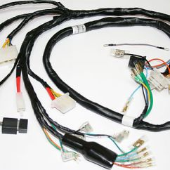 1976 Honda Cb750 Wiring Diagram Mgf Alternator Harnesses And Charging System Parts - Electrical Products Vintage ...