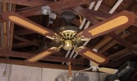 S.M.C. Ornate Ceiling Fans Model A52
