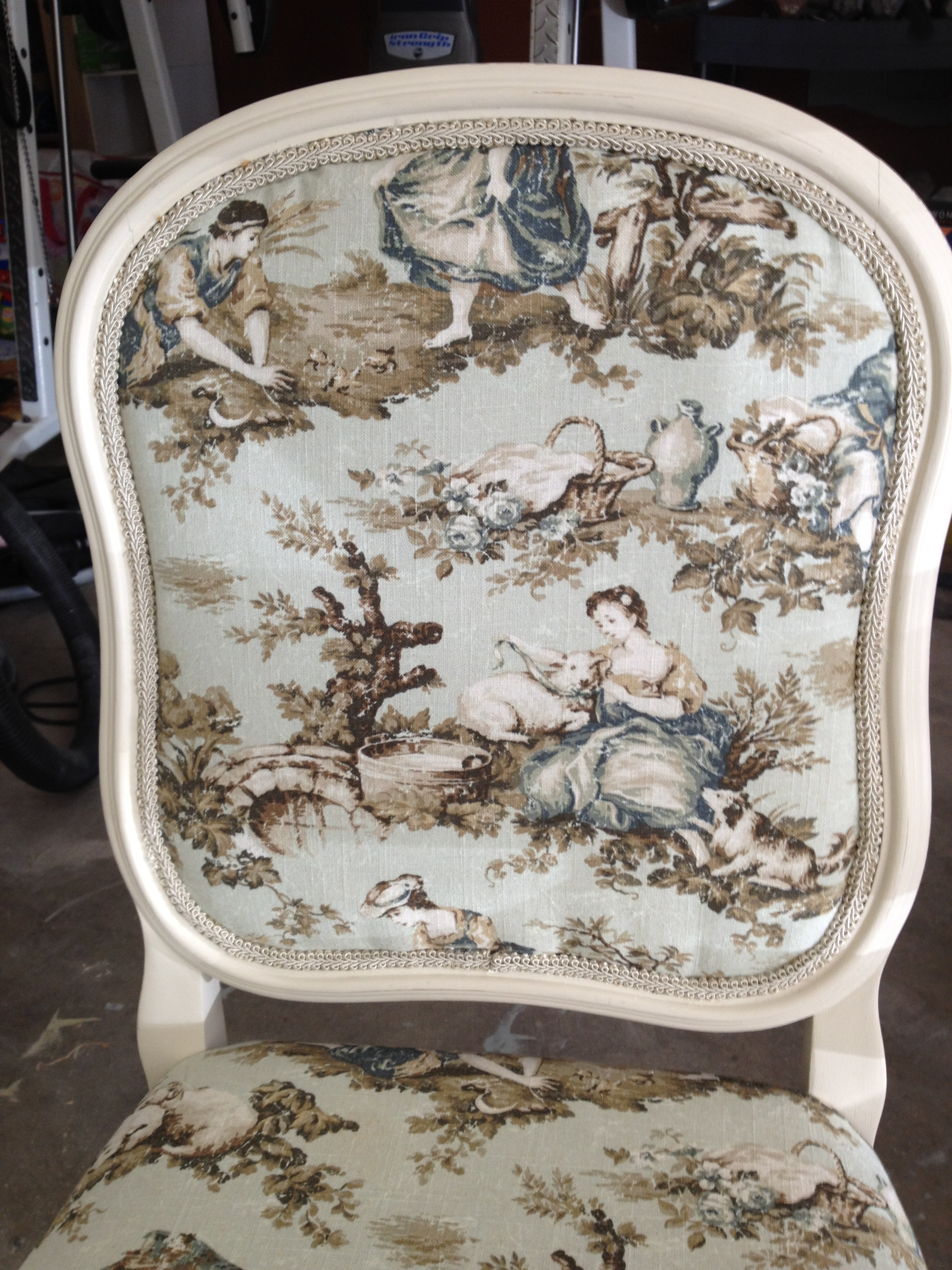 Reupholsterd Chairs  How To  Vintage Charm Restored