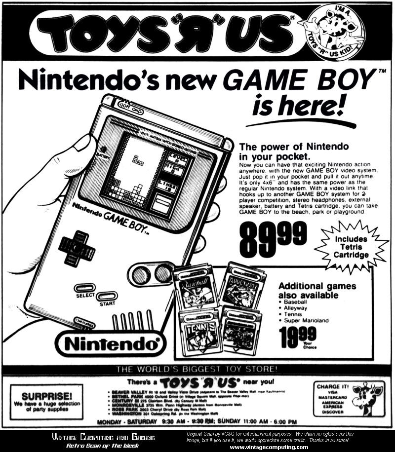 Image result for game boy ad