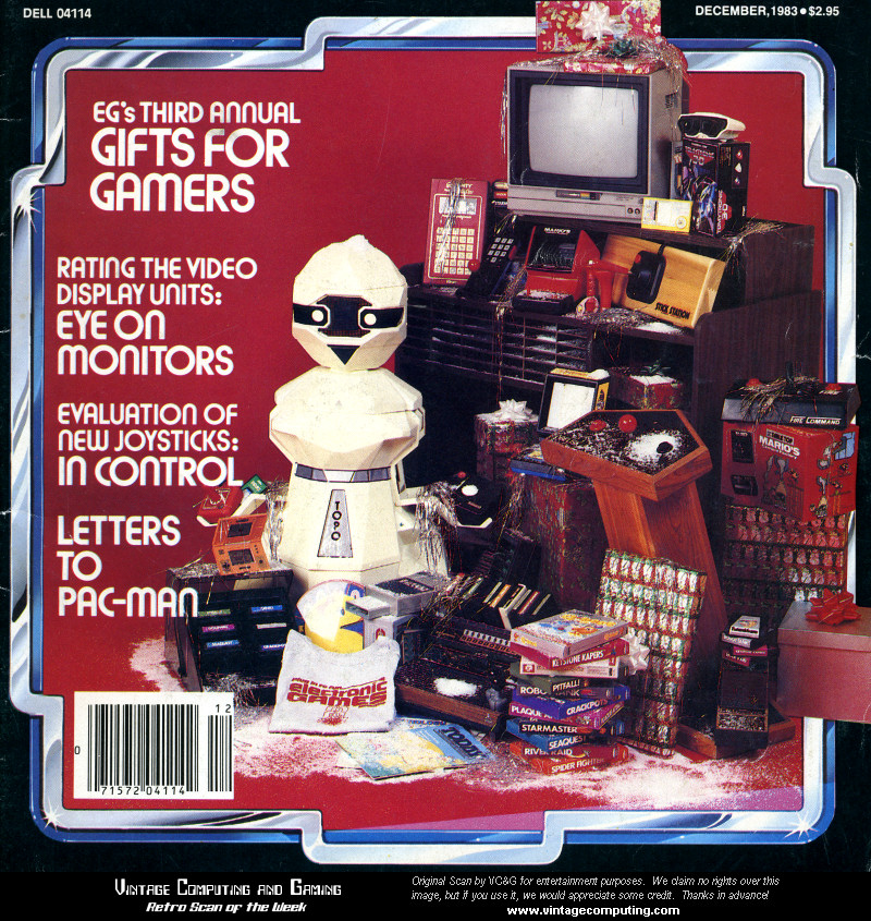 VCG   Retro Scan of the Week Christmas 1983 Challenge
