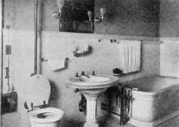 Bathroom Designs circa 1904