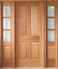 Custom Wood Exterior Doors | Solid Wood Doors - YesterYear ...