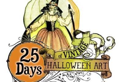 Vintage Halloween Clip Art Free