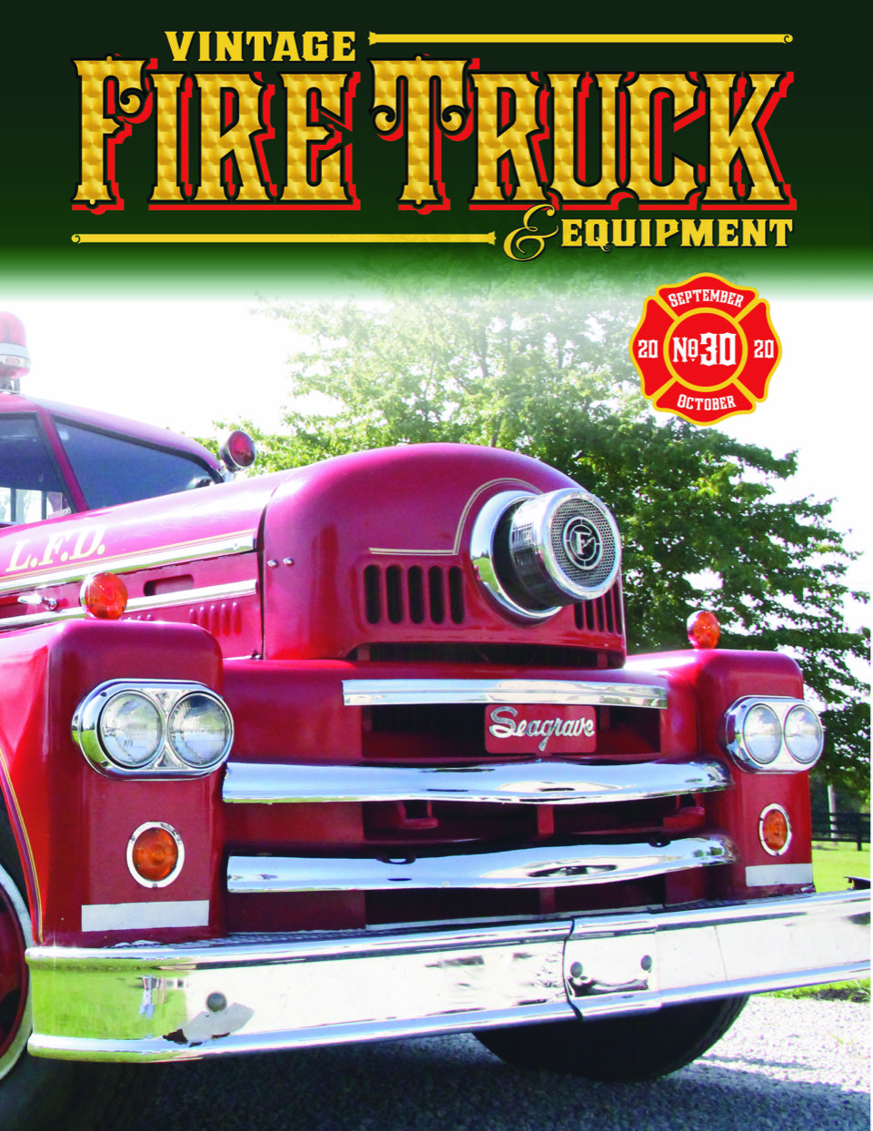 Vintage Fire Truck Magazine Issue 29